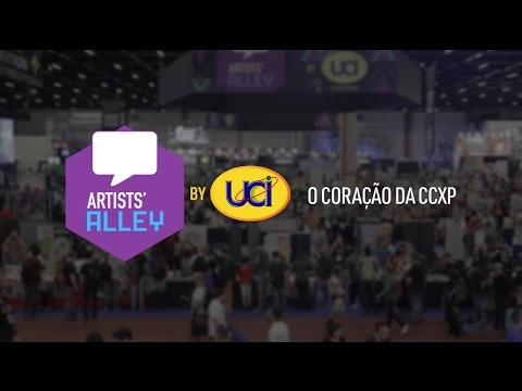 Artists' Alley - CCXP 2016