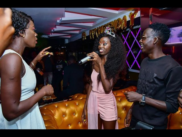 Akothee Gatecrashes Daughter's Rue Baby's Birthday Party