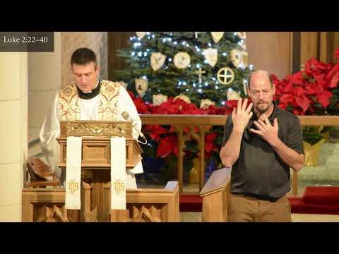 First Sunday after Christmas Service   December 27, 2020   St Paul Lutheran, Austin, TX