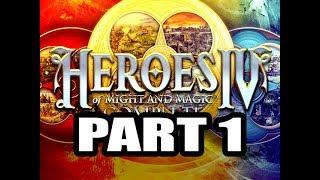 Heroes 4 Expert Playthrough 6 (The Four Horsemen), Part 1