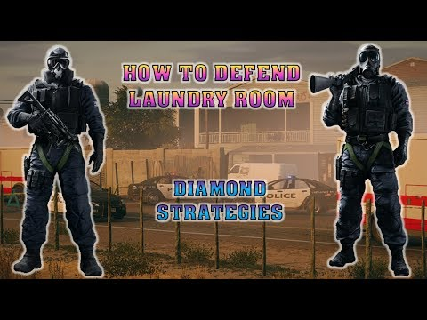 In Depth: How to Defend LAUNDRY ROOM on Oregon | Rainbow Six Siege