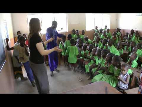 katy at Mason Nursery School, Bafuloto, Gambia