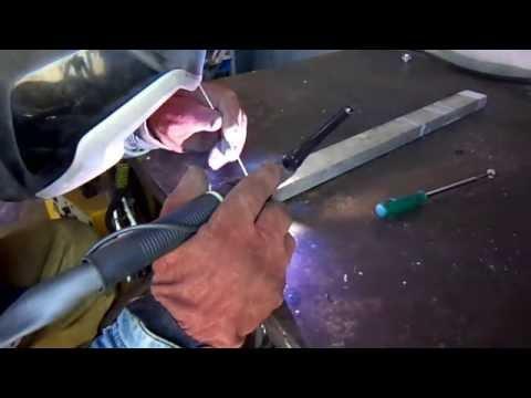 Как сварить алюминий со сталью.