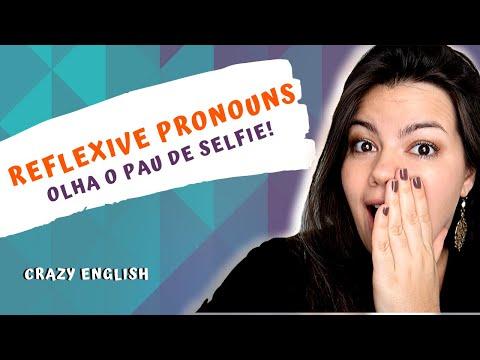 11ª aula - Reflexive Pronouns / Pronomes Reflexivos - Myself, yourself, himself, herself...