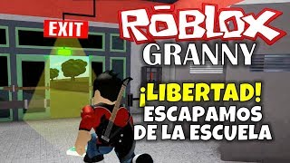 ROBLOX: GRANNY ESCAPE FROM SCHOOL!