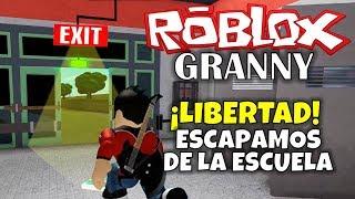 ROBLOX: GRANNY WE ESCAPE SCHOOL!