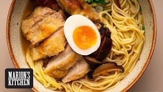 Crispy Chicken & Gyoza Ramen Noodles - Marion's Kitchen