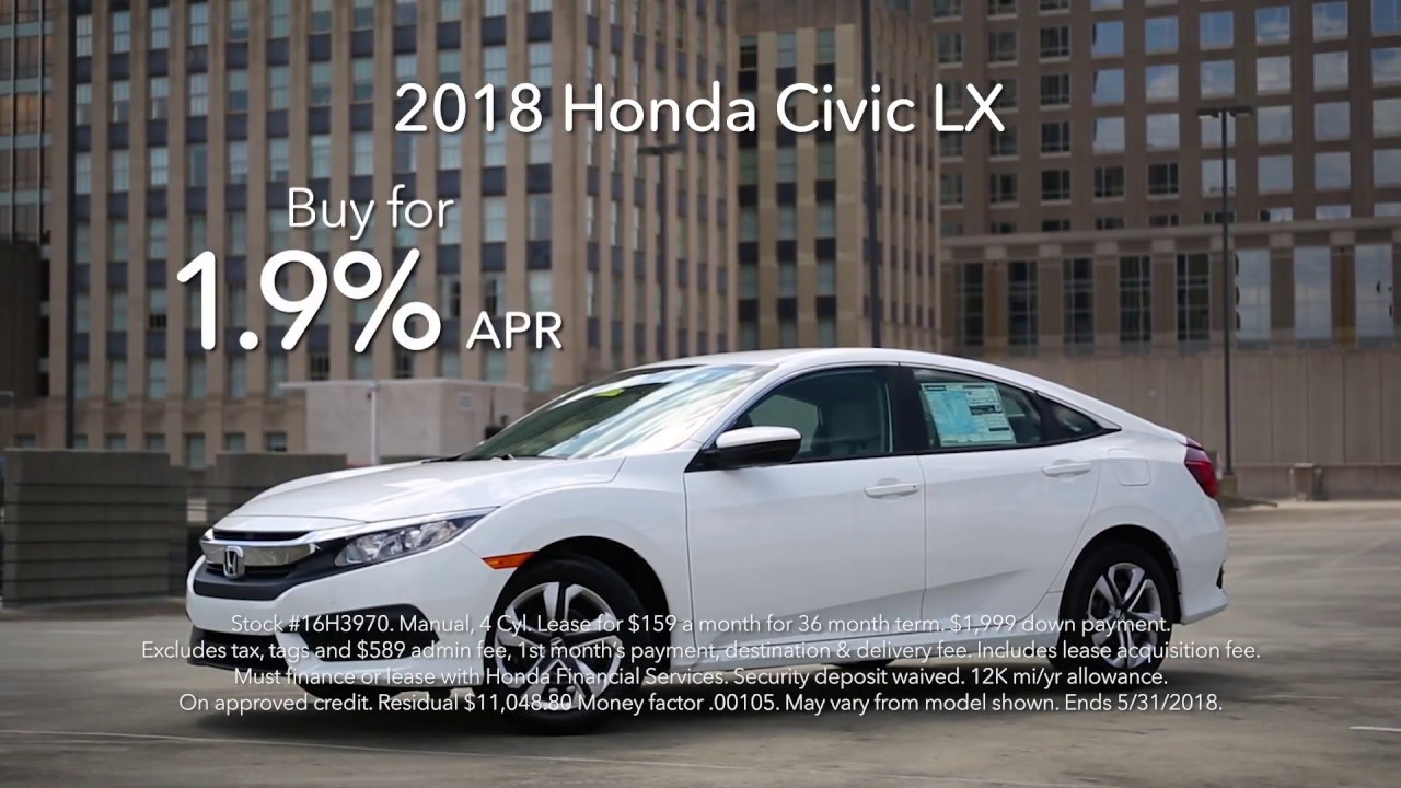 Flow Honda Statesville >> May 2018 Monthly Special Flow Honda Civic