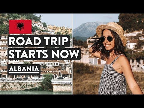 DRIVING IN ALBANIA 🚙 | Durres & Berat Travel Vlog | Car Rental Tirana