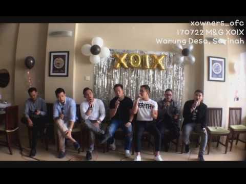 [M&G XOIX] 170722 XOIX sings Medley from 1st Album (6)