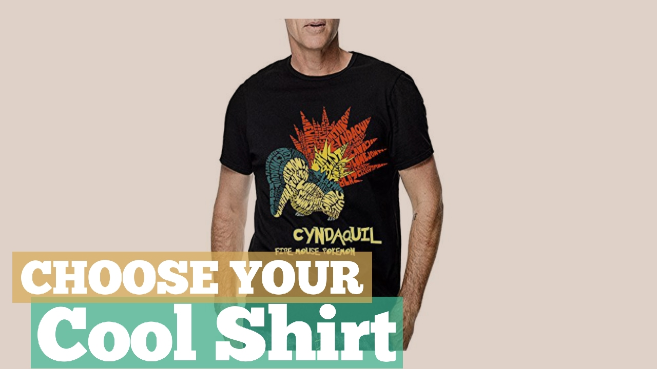 8989c42c Top 12 Cyndaquil Shirt // Best Graphic Tee On Amazon - YouTube