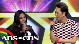 It's Showtime: Vice Ganda makes fun of Angel Locsin look-alike