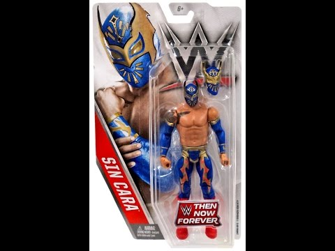 WWE, Basic Series, 2016 Then Now Forever, Sin Cara Action Figure Review