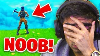 Reacting to MY FIRST FORTNITE LIVESTREAM