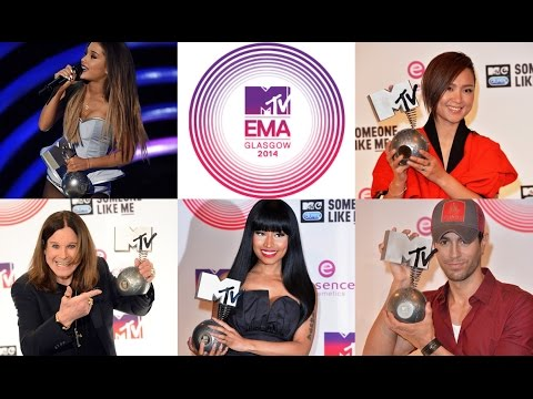 MTV EMA 2014  nominees & winners