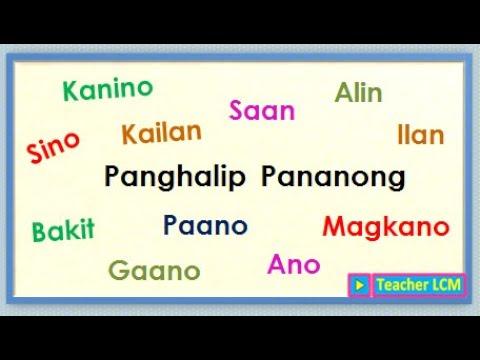 Panghalip Pananong Teacher Lcm