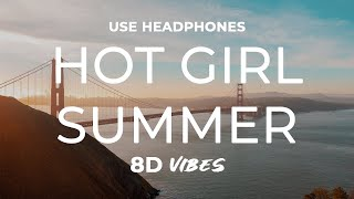 Megan Thee Stallion - Hot Girl Summer ft. Nicki Minaj & Ty Dolla $ign (8D AUDIO) 🎧