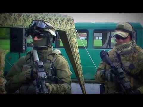 Jednostka Wojskowa Komandosów Z Lublińca - Prezentacja / Commando Military Unit From Lubliniec [HD]