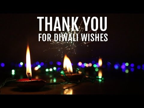 Diwali Thank you Wishes, thank you for...