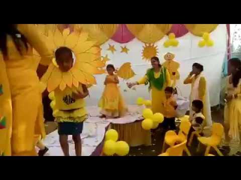 yellow day celebration in preschool yellow day celebration 143