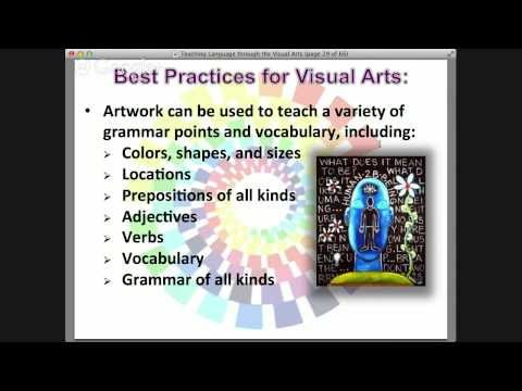 Teaching Language Through Visual Arts