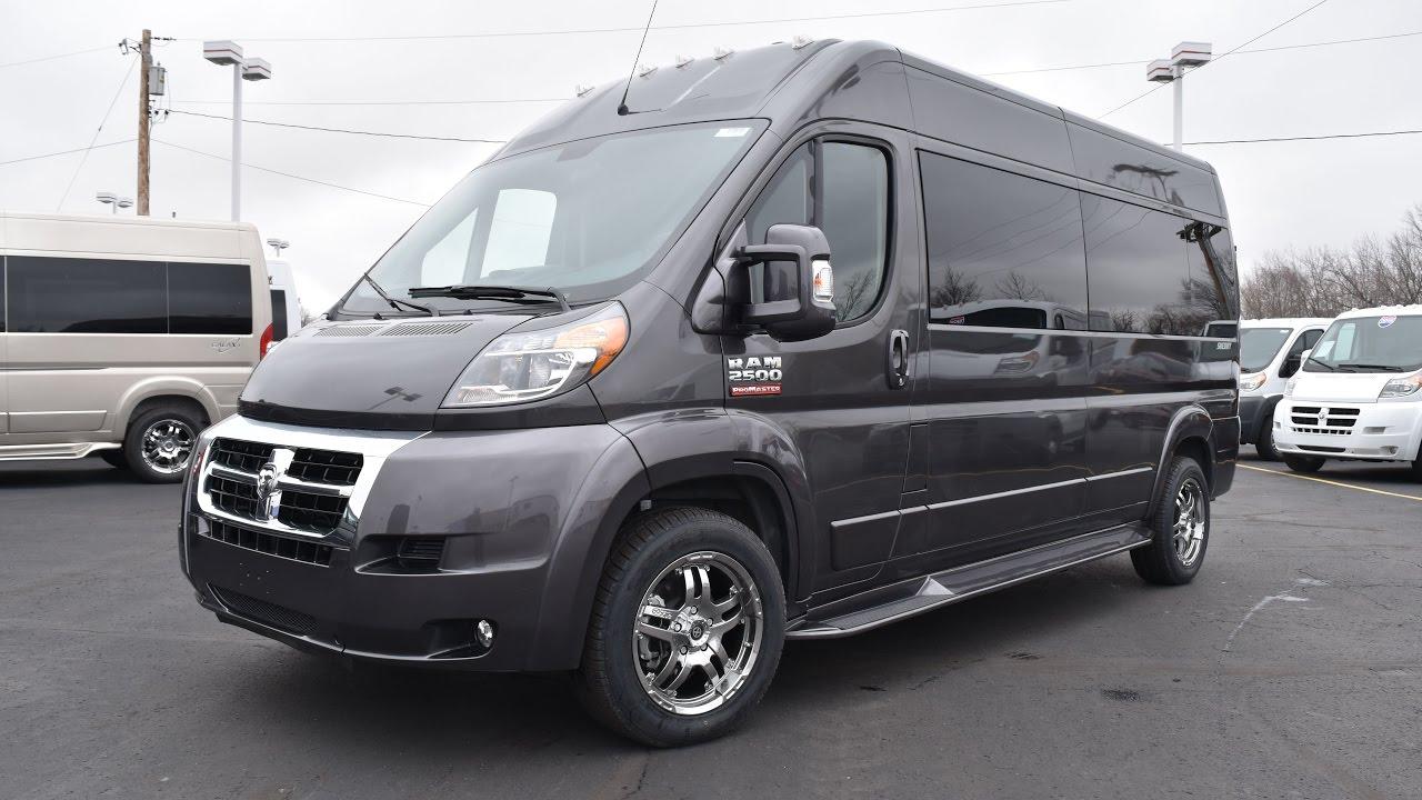 2017 Ram ProMaster 9 Passenger Conversion Van By Sherry Vans