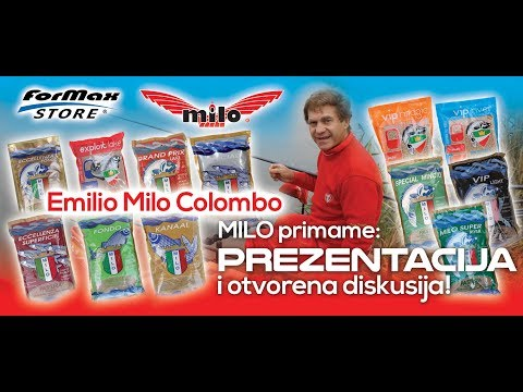 Emilio Milo Colombo - PREZENTACIJA PRIMAME, Formax Mega Store