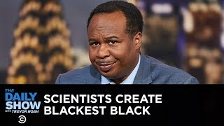 Scientists Create the Blackest Shade of Black | The Daily Show