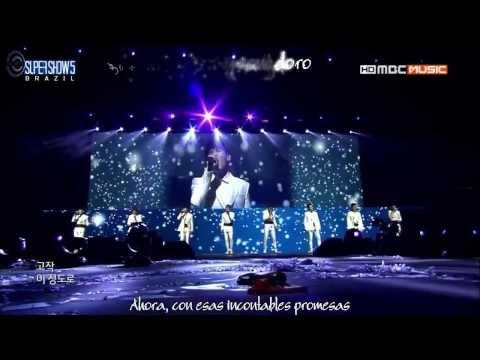 Super Junior - Daydream (Live) SS5 in BRAZIL (Sub Español+Karaoke)