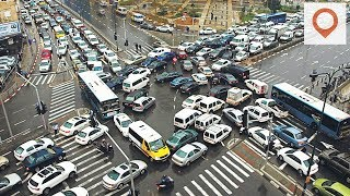 The 10 Most Traffic Congested Cities of the World