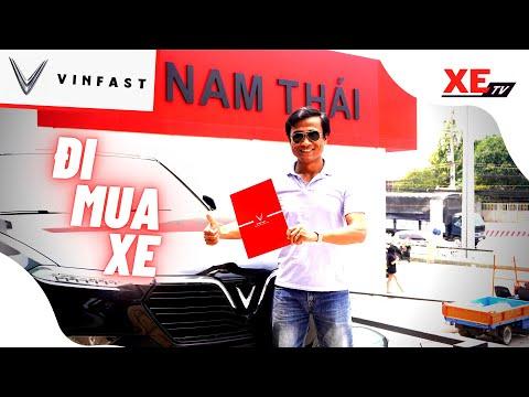 Đi mua xe tại đại lý VinFast Nam Thái Bình Dương, #XEtv cà thẻ cọc liền VinFast VF e34