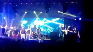 """""""Suave"""" Los Rabanes y Gangster concierto Guatemala"""