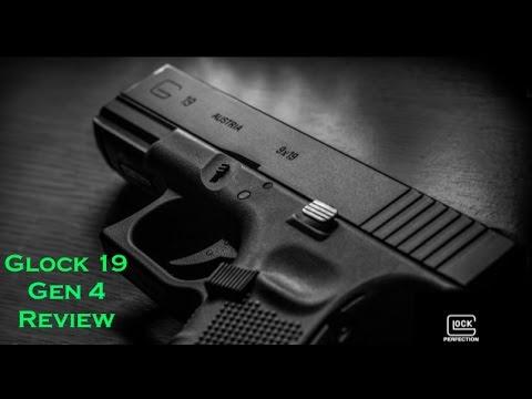 Glock 19 Gen 4 Review - YouTube