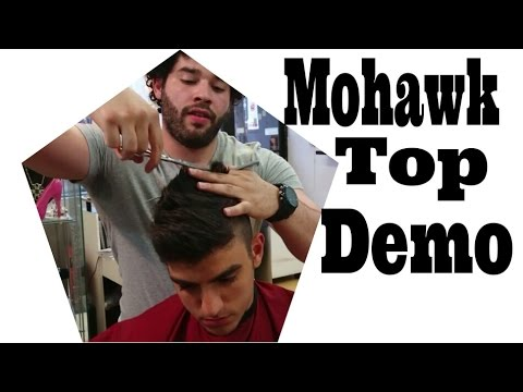 Faux hawk Haircut tutorial - High and tight