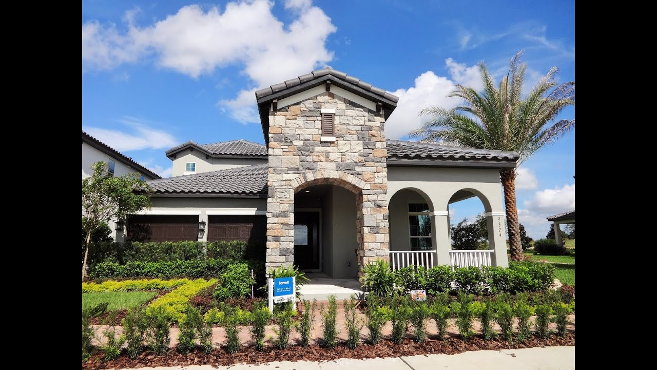 watermark by meritage homes barrett model winter garden new homes youtube. Interior Design Ideas. Home Design Ideas