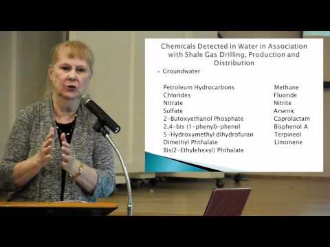 Wilma Subra - Human Health, Exposure from the Development of Shale Gas Plays
