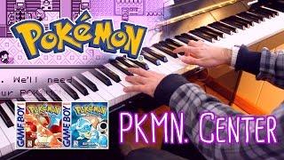 Pokémon Center (Pokémon Red and Blue) ~ Piano cover w/ Sheet Music!