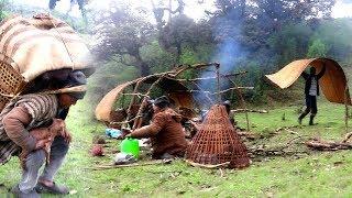 Shepherd Lifestyle Into Mountain Region of Nepal || Shifting Sheep Hut ||