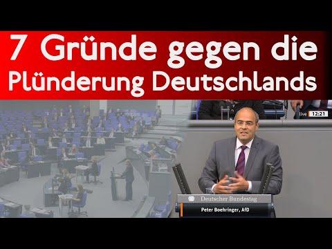 7 Gründe gegen die Plünderung Deutschlands | Bundestag 14.5.2020