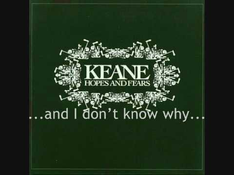 Keane - On a Day Like Today (lyrics)