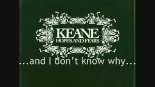 Keane On A Day Like Today Lyrics