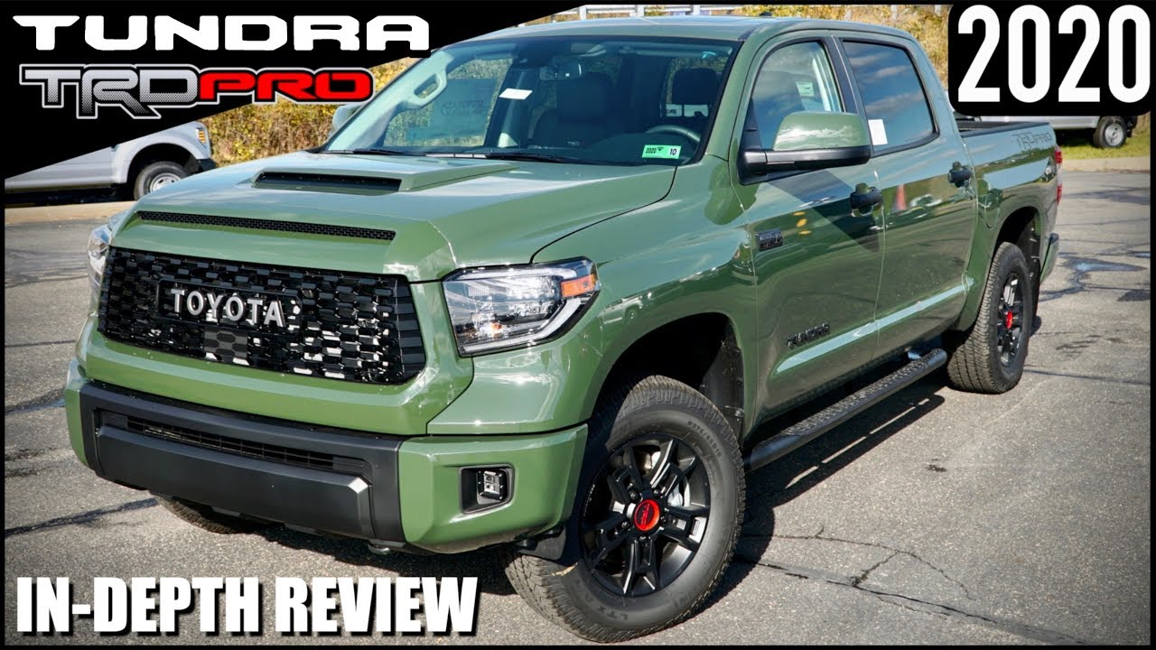 2020 Toyota Tundra Trd Pro Army Green Off Road Ready Youtube