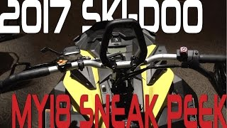 STV 2017 MY18 Sneak Peek Ski-Doo