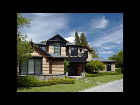 Проекты домов: уютный интерьер и экстерьер дома в переходном стиле