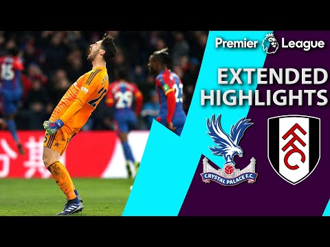 Crystal Palace v. Fulham | PREMIER LEAGUE EXTENDED HIGHLIGHTS | 2/2/19 | NBC Sports