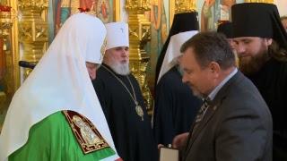 Божественная литургия в Свято-Михайловском соборе г. Ижевска 15.10.2017