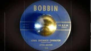 Little Milton - Long Distance Operator