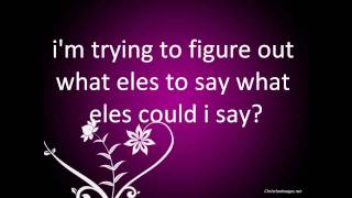 its all your fault by pink lyrics