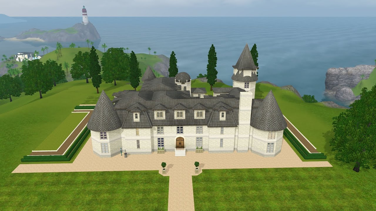 the sims 3 ea house renovation french chateau youtube. Black Bedroom Furniture Sets. Home Design Ideas