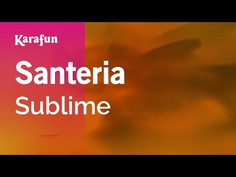 Karaoke Santeria - Sublime *